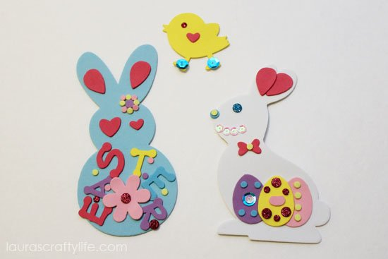 R's Easter crafts