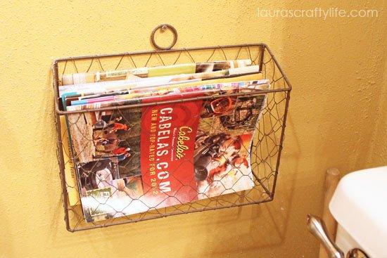 store catalogs in convenient place