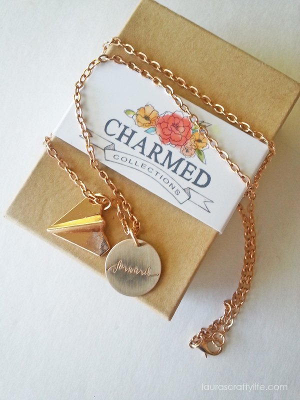 Charmed Collections forward necklace #charmyoself