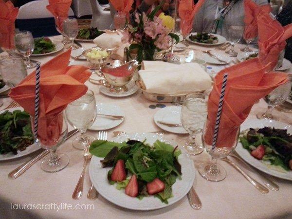 Food at Snap Conference