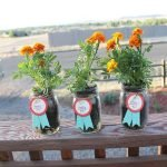 Mason Jar Flower Planter