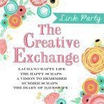 The Creative Exchange link party button