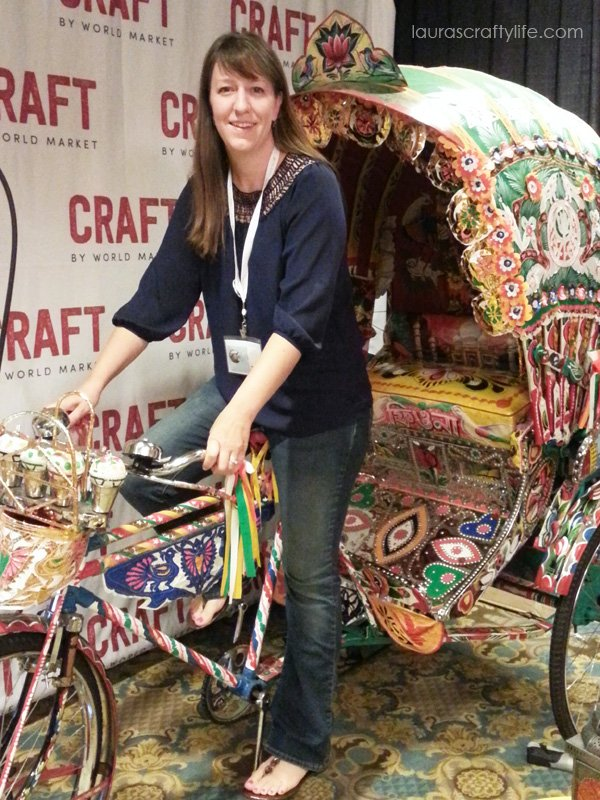 World Market rickshaw at Snap