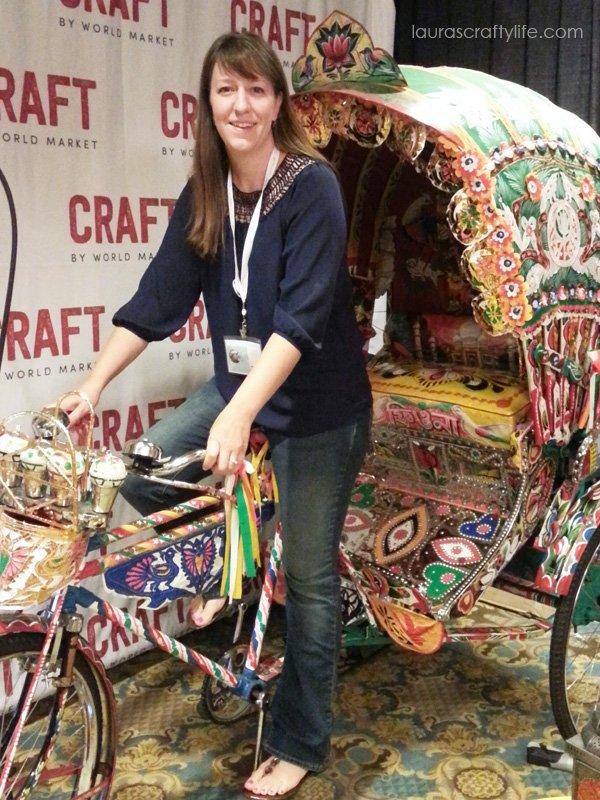 World Market rickshaw at Snap