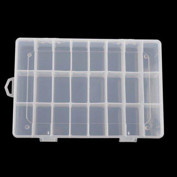 Plastic divider bin