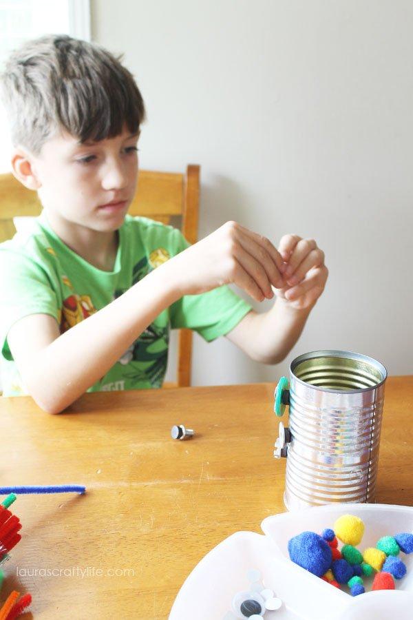 T making robots