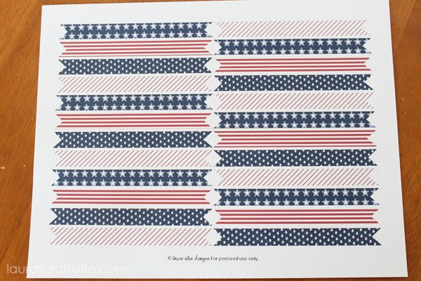 print straw flags