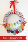 Back to School Wreath with Laura's Crafty Life