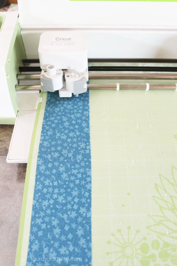 Cut fabric with the Cricut Explore
