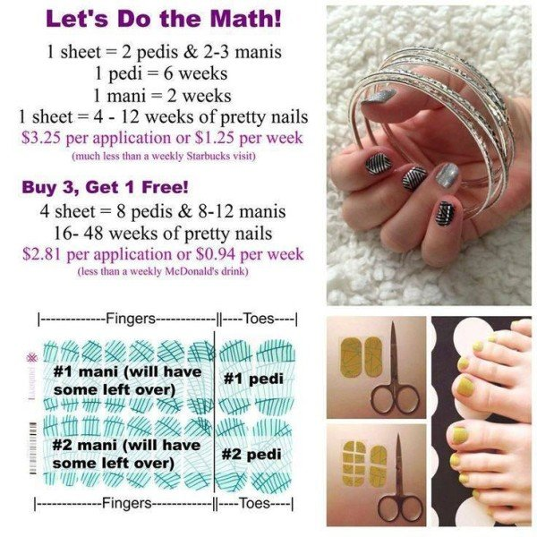 Do the math on Jamberry Nails