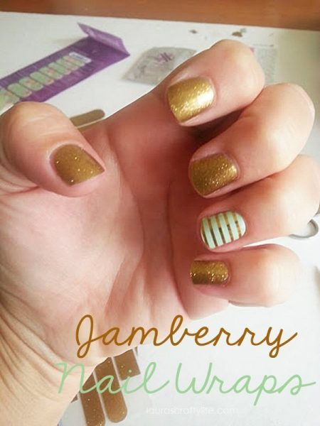 Jamberry Nails 1st time application