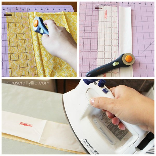 Prepare fabric for Cricut Explore
