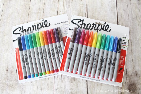 Sharpie Fine and Ultra Fine markes at Staples