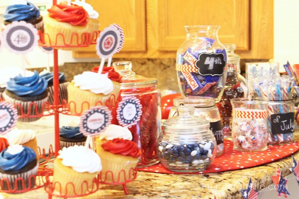 Treats at Patriotic Party