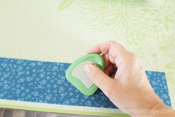 Use Cricut Tools Scraper to secure to cutting mat