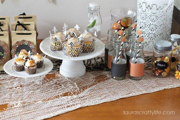 Create beautiful Halloween party decor with the Cricut Explore