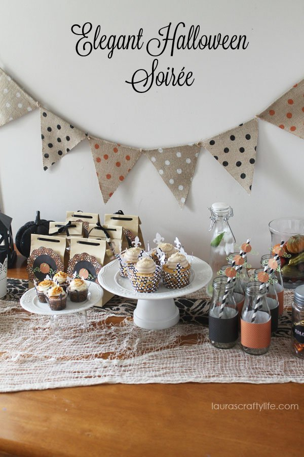 Elegant Halloween Soirée by Laura's Crafty Life