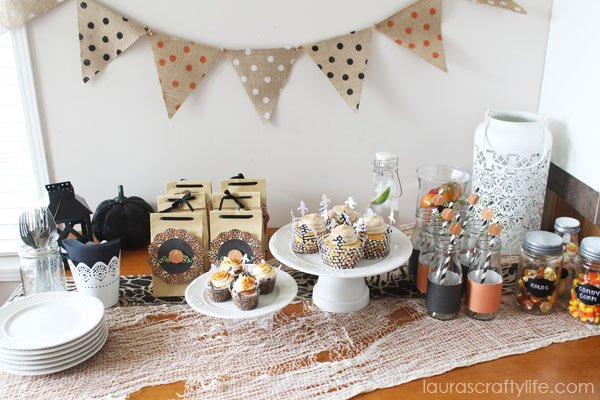 Elegant Halloween Soiree with Laura's Crafty Life