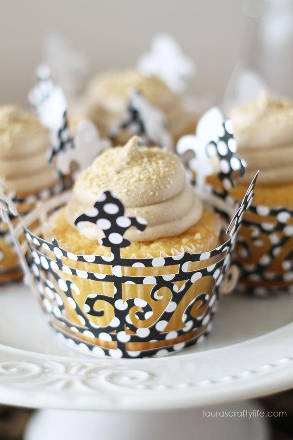 Halloween Soiree Cupcake Wrappers