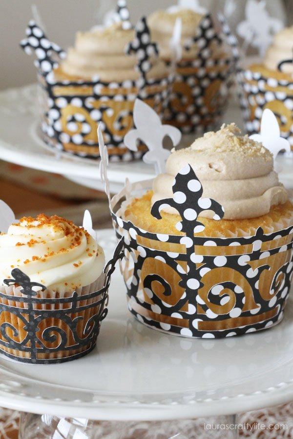 Halloween Soiree Mini and Regular Cupcake Wrappers