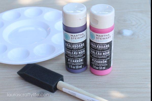 Martha Stewart Crafts Multisurface Chalkboard paint