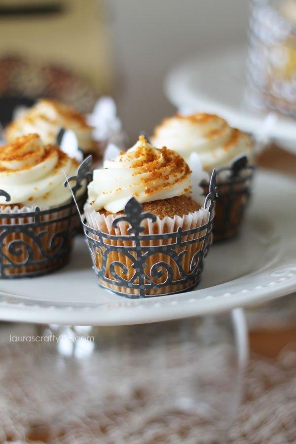 Mini Halloween Soiree Cupcake Wrappers