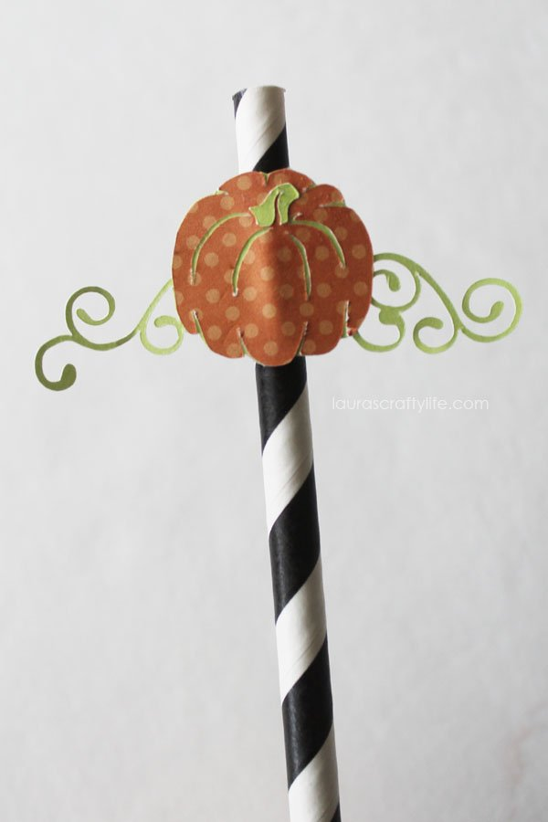 Pumpkin straw for Halloween Soiree