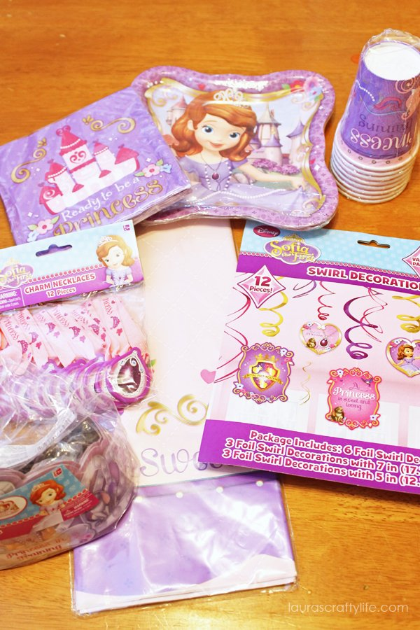American Greetings Sofia the First party supplies #JuniorCelebrates #CollectiveBias #shop