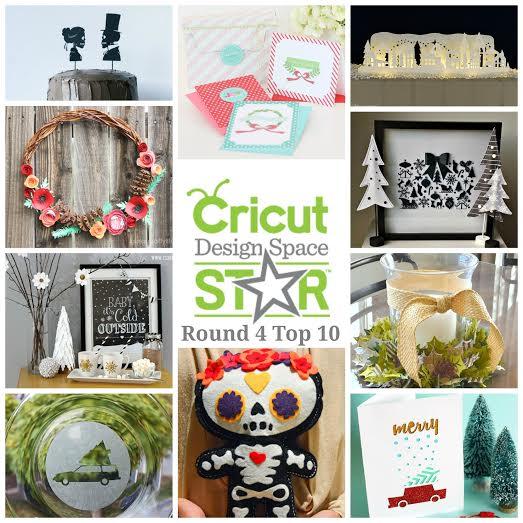 Cricut Design Space Star Top 10 - Round 4