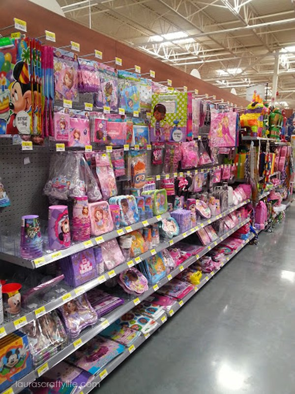 Disney Junior American Greetings Party Supplies at Walmart #JuniorCelebrates #CollectiveBias #shop
