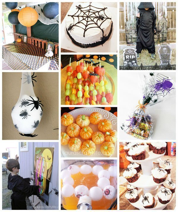 Halloween Birthday Party Ideas by Laura's Crafty Life