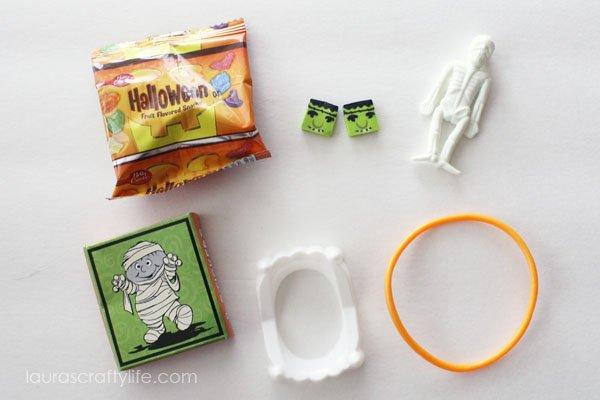 Halloween Birthday Party Treat Bag Favors