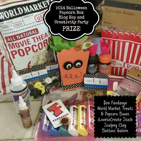 Halloween Popcorn Blog Hop Giveaway Prize