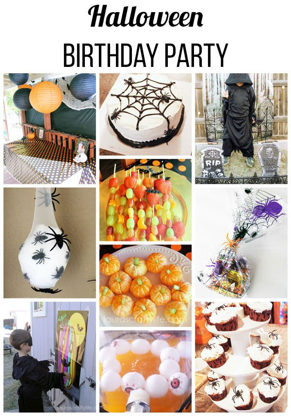 Halloween birthday party ideas
