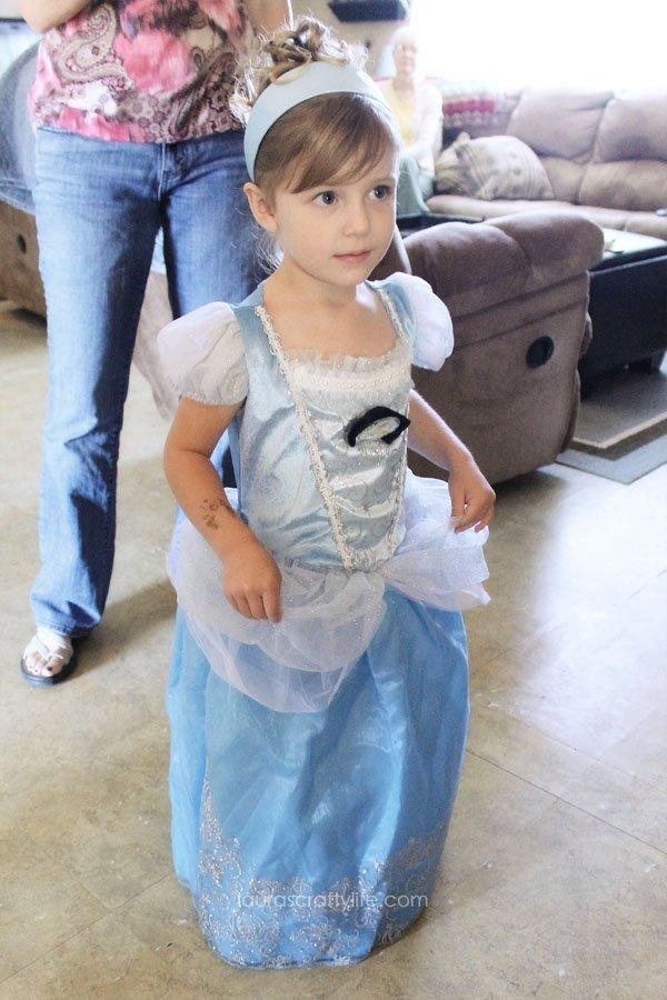 My little Cinderella