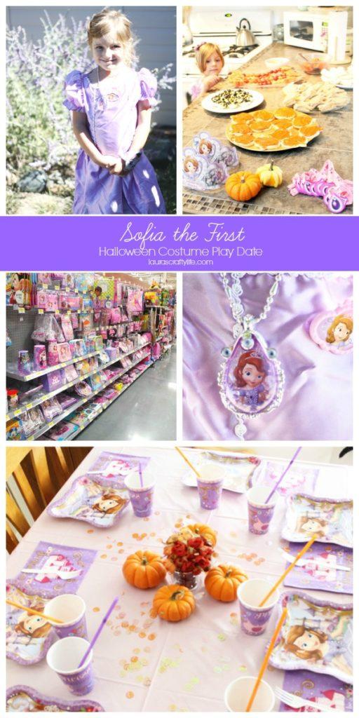 Sofia the First Halloween Play Date #JuniorCelebrates #CollectiveBias #shop