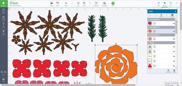 Woodland Fall Paper Wreath cut file