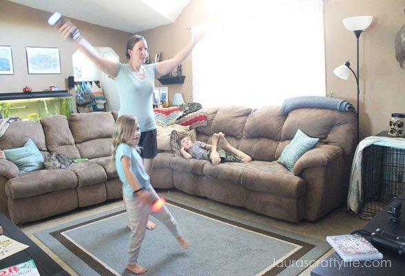 Dancing to Let it Go - Just Dance 2015