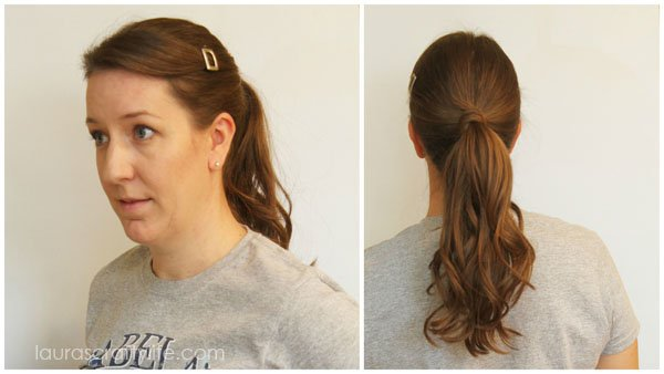 Easy ponytail with Infiniti Pro by Conair® Curl Secret®