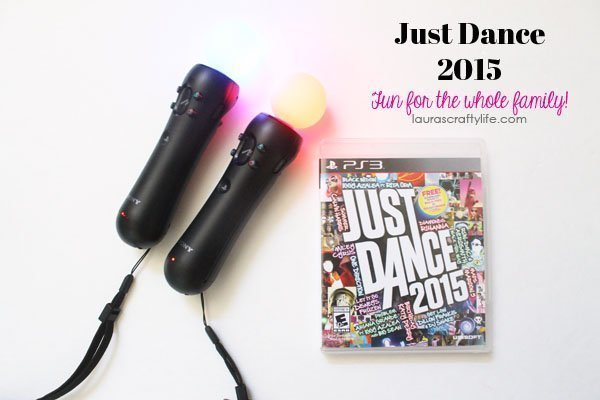 Just Dance 2015 - Laura's Crafty Life #JustDance 2015 #cgc