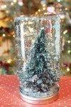 Mason Jar Snow Globe - Laura's Crafty Life