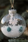 Winter Wonderland Handmade Ornament - Laura's Crafty Life