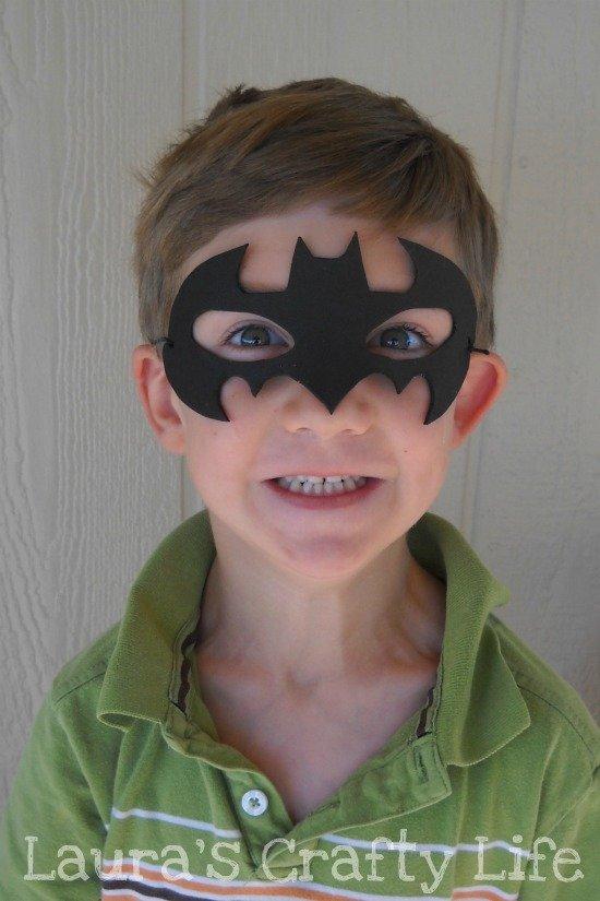 DIY Batman Mask