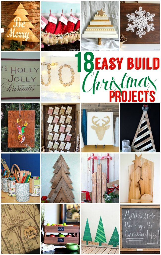 easy build christmas projects wooden christmas tree display - Wooden Christmas Crafts