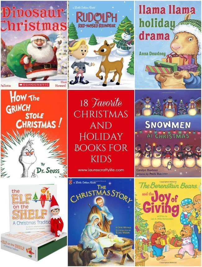 18 Favorite Christmas and Holiday Books for Kids - Laura's Crafty Life