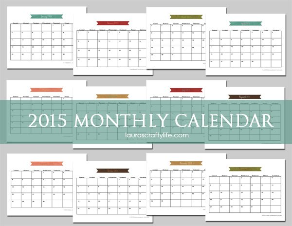 "Calendar Craft 2015 : Search results for ""free printable calendar craft"