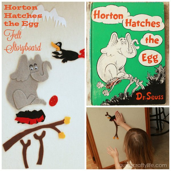 Dr. Seuss Craft - Horton Hatches the Egg - Laura's Crafty Life