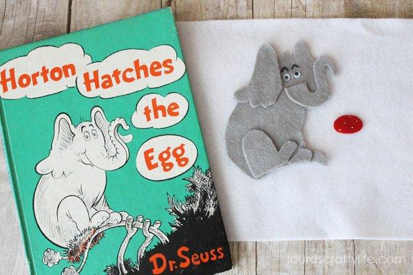 Horton Hatches the Egg Felt Storyboard