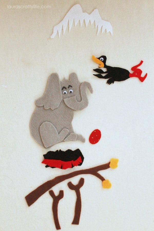 Horton Hatches the Egg by Dr Seuss - Felt Storyboard
