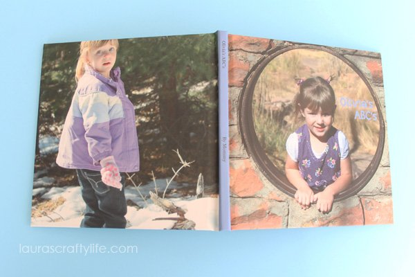 Blurb ABC Photo Book - Laura's Crafty Life